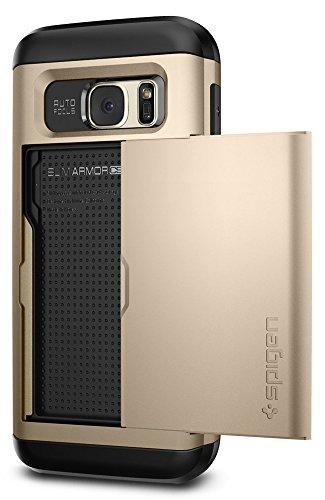 Spigen Slim Armor Designed for Samsung Galaxy S7 Case (2016) - Champagne Gold