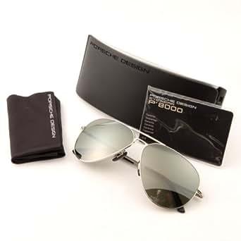 Amazon.com: Porsche Sunglasses P 8508 SILVER C P8508
