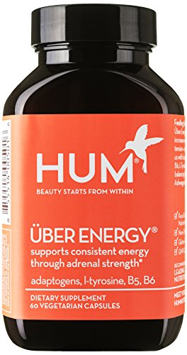 Hum Nutrition   Uber Energy   Adrenal Support  60 Vegetarian Capsules