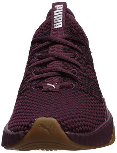 SHOPUS | PUMA Women's Defy Sneaker fig metallic ash 8.5 M US