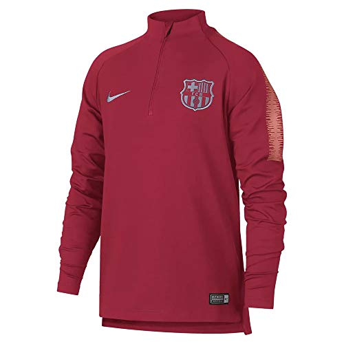 Nike 2018-2019 Barcelona Drill Training Top (Tropical Pink) - Kids