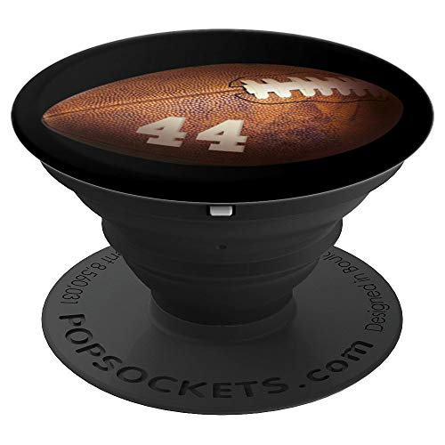 44 Football Number PopSockets Grid Player - PopSockets Grip and Stand for Phones and (Football Cell Phone Holder)