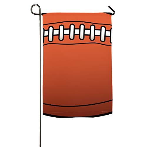 Football Vertical House Flag,Garden Flag,Home Flag,Indoor Flag Yard Indoor  & Outdoor Decoration 12x18inch & 18x27inch