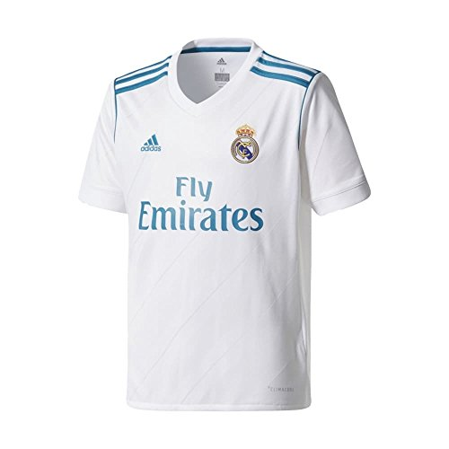 adidas Real Madrid CF Home Youth Jersey [WHITE] - Jersey Youth Madrid Real Home