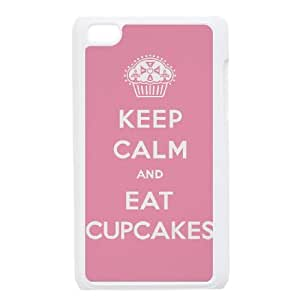 Keep Calm Eat a Cupcake iPod Touch 4 Case White T4367779