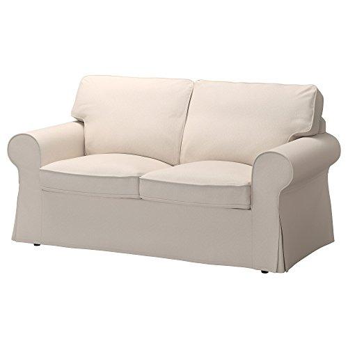 Ikea Ektorp Sofa (IKEA Ektorp Loveseat Couch Cover Lofallet Beige [2 Cushion Love Seat Sofa Cover] Item)