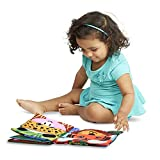 DishyKooker Baby Cloth Book Intelligence Development Matching Book Educational Toy Soft Cloth Learning Cognize Books Educational Toys for Kids Christmas Birthday Gift