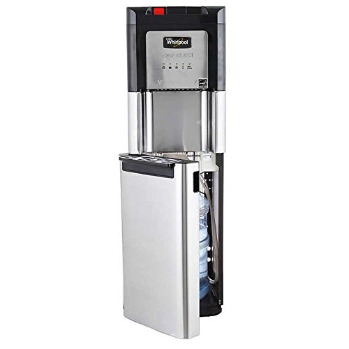 Whirlpool Self Cleaning Stainless Steel Bottom Load Water Cooler 8LIECH-SC-SSS-5L-W by Whirlpool