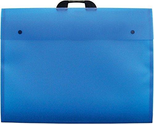 Import Royaume Uni Dekko Porte-documents Bleu A2