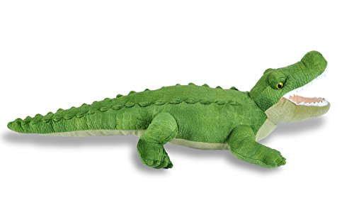 41g0BCMb3bL - Wild Republic Green Alligator Plush, Stuffed Animal, Plush Toy, Gifts For Kids, Cuddlekins, 23""