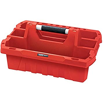 PLUMBERS NEW RAACO OPEN TOOLBOX 137195-3 COMPARTMENTS /& DRAWER