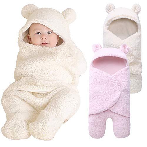 (Symphony Newborn Baby Wrap Swaddle Blanket, Kids Cashmere Swaddle Kids Sleeping Bag Sleep Sack Stroller Wrap Sleep Sacks (A)