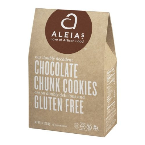 Aleia's Gluten Free Chocolate Chunk Cookies (Pack of 3)