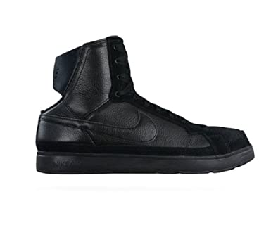 NIKE Air Troupe Mid Womens Dance Trainers Shoes - Black - SIZE UK ... f60d99463