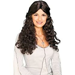 Rubie's Lord Of The Rings Arwen Wig, Brown, One Size