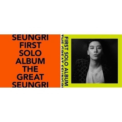 Bigbang Seungri - [The Great Seungri] 1st Solo Album Random CD+PhotoBook+Lyrics+Postcard+Selfie Photo+PhotoCard+Coaster+Sticker+Flyer