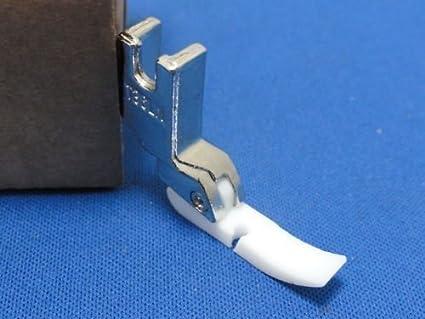 Pié Prensatelas de Máquinas de Coser Industrial para Cremallera, PVC o Piel, Adecuada Para