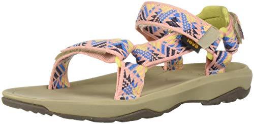 Teva Girls' Y Hurricane XLT 2 Sport Sandal Boomerang Apricot Blush 5 Medium US Big Kid