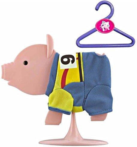 Teacup Piggies Fashion Set Pedal Power Yellow Jersey #99