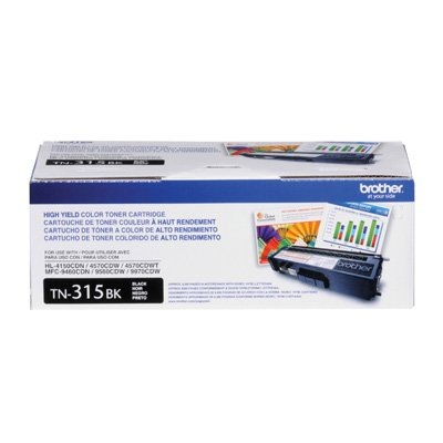 Brother TN315BK Toner Cartridge 1 Pack