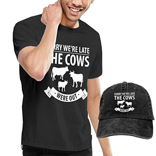 Kerr Marcus Cow Nuts Lates Men's Short Sleeve T Shirt with C