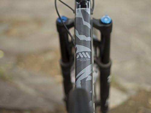 All Mountain Style AMS Protector de Cuadro Full Protege tu Bicicleta de posibles ara/ñazos y Golpes