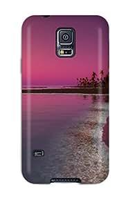 For Galaxy S5 Fashion Design Twilight Sunset Case-IolFwkQ4434fkCXM