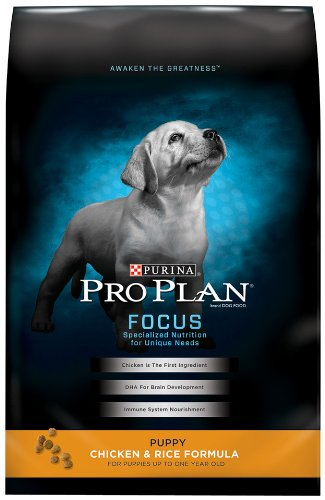 Purina Pro Plan Dry Puppy Food, Chicken and Rice Formula, 6-Pound Bag, My Pet Supplies