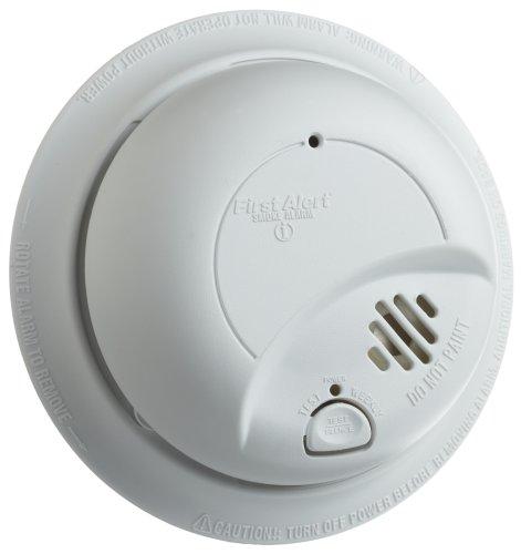 Lot of 6 / 9120B BRK Smoke Alarm 120v with battery Backup