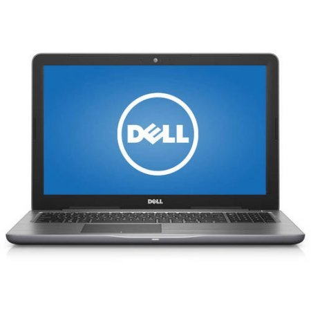 Newest Dell Inspiron 5000 Premium 15.6 inch HD Laptop PC, AMD A9-9400 Dual-Core, 8GB DDR4, 256GB SSD, DVD RW, Bluetooth 4.0, HDMI, WIFI, Windows 10 Home, Gray