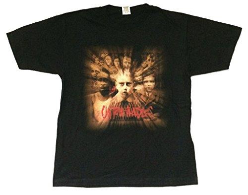 Korn Burst Untouchables Pop Sux Tour 2002 Black T Shirt (L) (T-shirts Korn Printed)