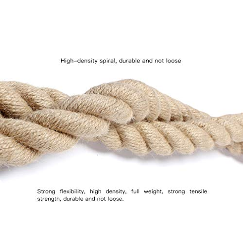 Battle Rope Diameter 38 mm UFC Fitness Training Rope Strength Training Physical Training Full Body Fitness 9M / 12M / 15M (Size : 15m) by BAI-Fine (Image #2)