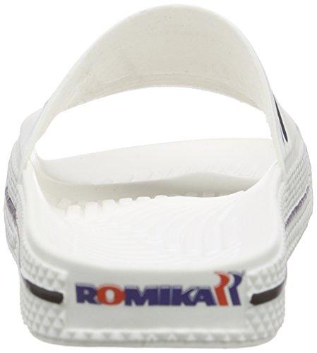 Chanclas Romika Blanco Romilette Unisex Adulto Blanco Blanco 5Pv4qC