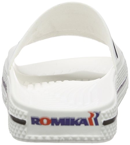 Romika Unisex Blanco Adulto Romilette Chanclas Blanco Blanco fEn7qfrwS0