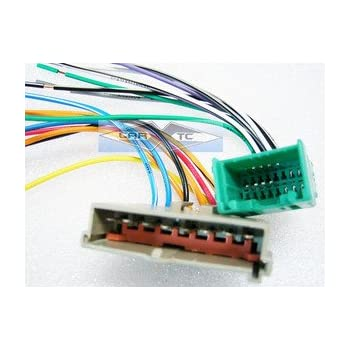 41g0GhrGJSL._SL500_AC_SS350_ amazon com stereo wire harness lincoln towncar 95 96 97 (car how to hook up car stereo wiring harness at bayanpartner.co