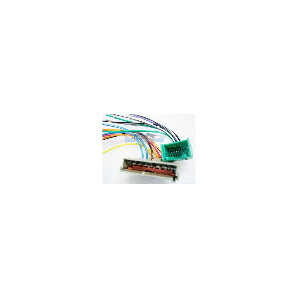 Stereo with Amp Wire Harness Ford Expedition Early 2003 (car radio wiring installation parts)