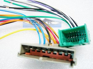 41g0GhrGJSL amazon com stereo wire harness ford ranger mini 95 96 97 (car 1987 Ford Ranger Wiring Harness at pacquiaovsvargaslive.co