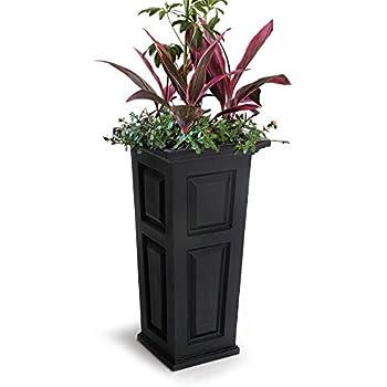 Amazon.com : Mayne 4833B Nantucket Tall Planter, 15.5 by