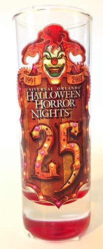 Universal Studios 2015 HALLOWEEN HORROR NIGHTS Jack BLOOD SHOT GLASS Mug Cup by Brand New