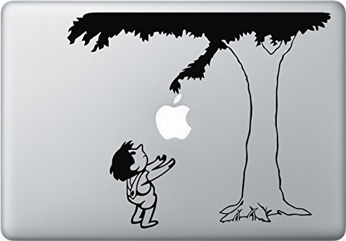 Giving Tree Decal Macbook Sticker