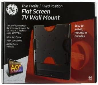 GE de pantalla plana soporte de pared para televisor, perfil fino: Amazon.es: Electrónica
