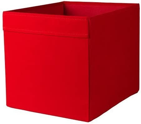 IKEA DRONA - Box, rojo - 33x38x33 cm: Amazon.es: Hogar