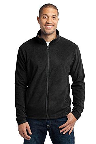 Port Authority Men's Microfleece Jacket L Black