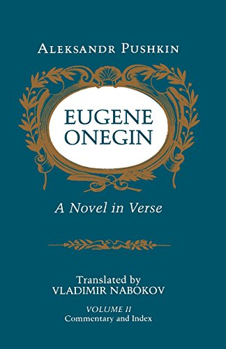 Eugene Onegin: A Novel in Verse, Vol. 2 by Brand: Princeton University Press