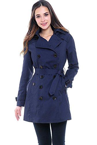 Navy All Weather Coat - 4