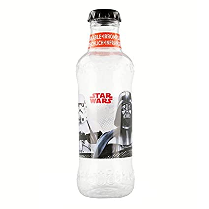 Botella REFRESCO 390 ML. Star Wars