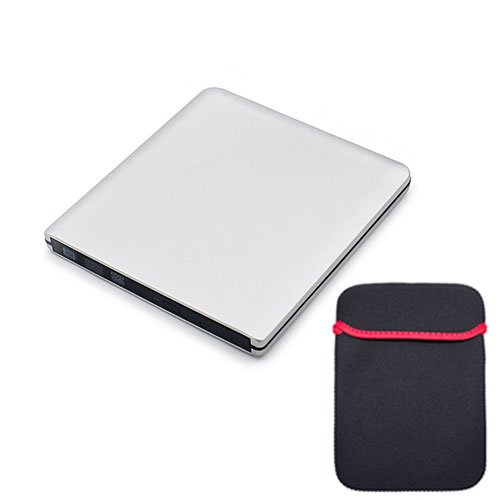 External Portable Superdrive Aluminium Case Silver product image