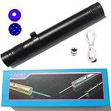 Cheap DJLP USB Flashlight Outdoor Camping Fishing Flashlight Blue Pointer 445nm