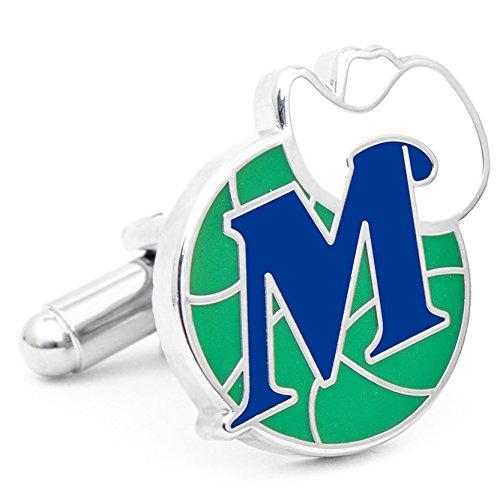 Dallas Mavericks NBA Logo'd Executive Cufflinks w/Jewelry Box by Cuff Links by Cufflinks