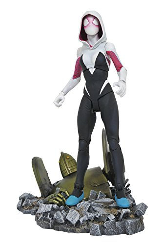 Diamond Select Toys Marvel Select Spider-Gwen Action - Style Gwen
